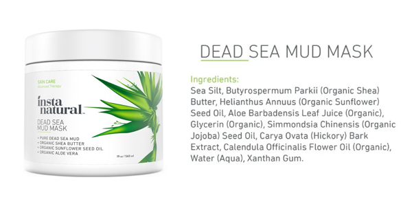 Dead Sea Mud Mask by InstaNatural