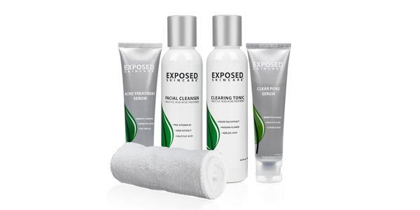Exposed Acne Treatment: Basic Kit