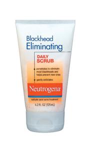 neutrogena blackhead eliminating daily scrub